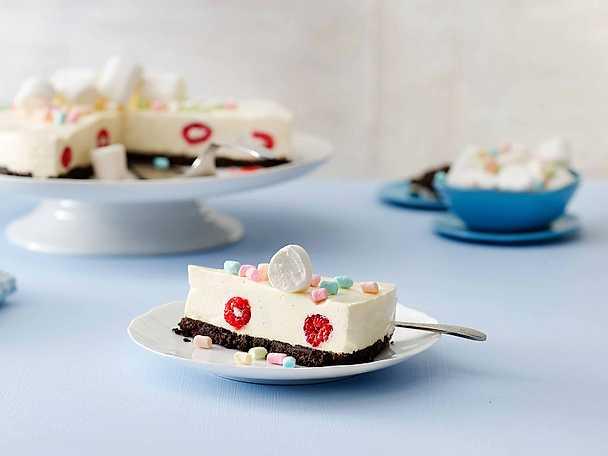 Festlig Philadelphia marshmallow cheesecake