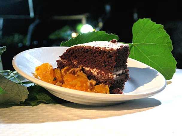 Fetta al latte - Tårta med nutella- och gräddfyllning