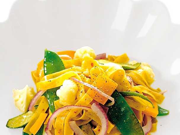 Fettuccini med grönsaker