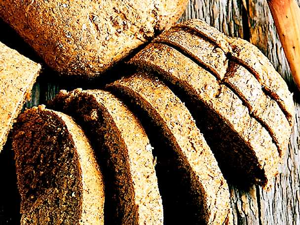 Fiberbröd med müsli