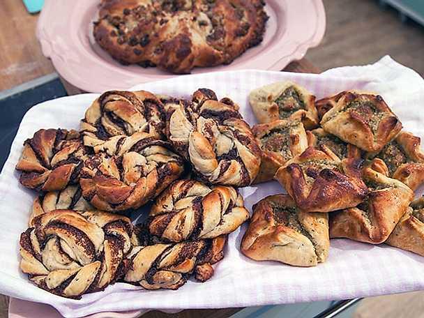 Fikonkrans, pistagesäckar och kanelknutar