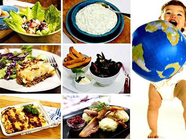 Fira med europeisk mat