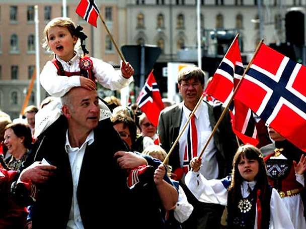 Fira syttende mai med norska favoriter