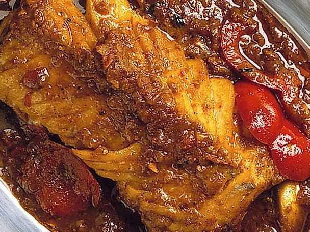 Fisk med chili och garam masala