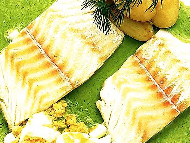 Fisk med persiljesås