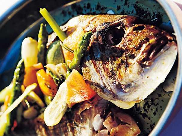 Fisk på grönbete