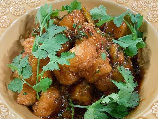 Fiskdoftande tofu