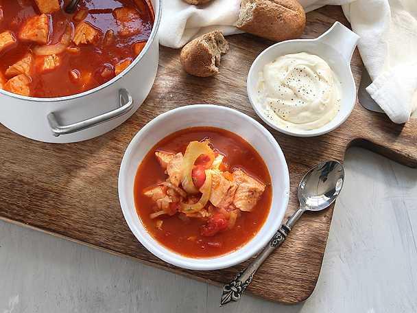 Fisksoppa med aioli, Viktväktarnas recept