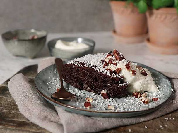 Flamberad mud cake