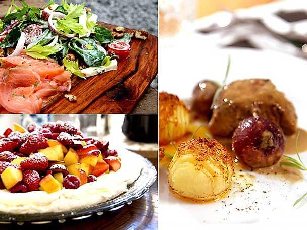 Fläskfilé och marängtårta till helgen
