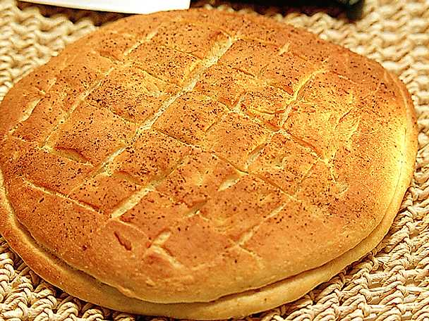 Focacciabröd med ost