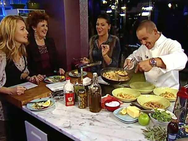 Förkvälls pastakock Christian Campogiani tar italiensk mat på allvar