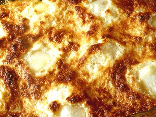 Fransk äppelkaka med mandel