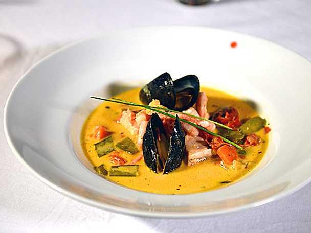 Fransk fiskgryta med aioli