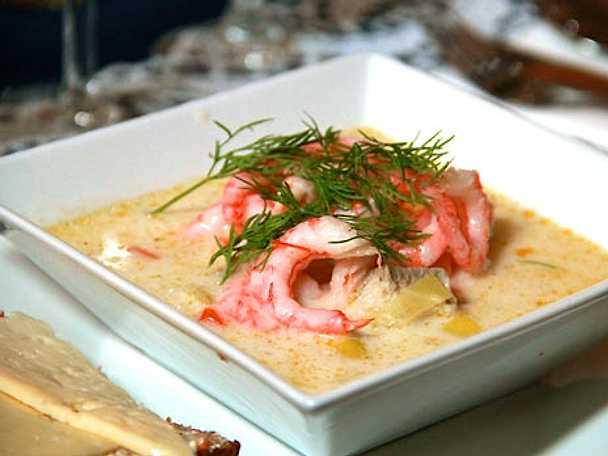 Fransk fisksoppa med fillimpa