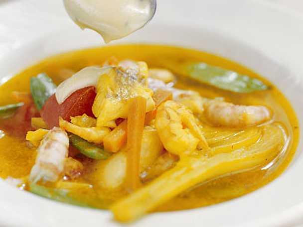Fransk fisksoppa