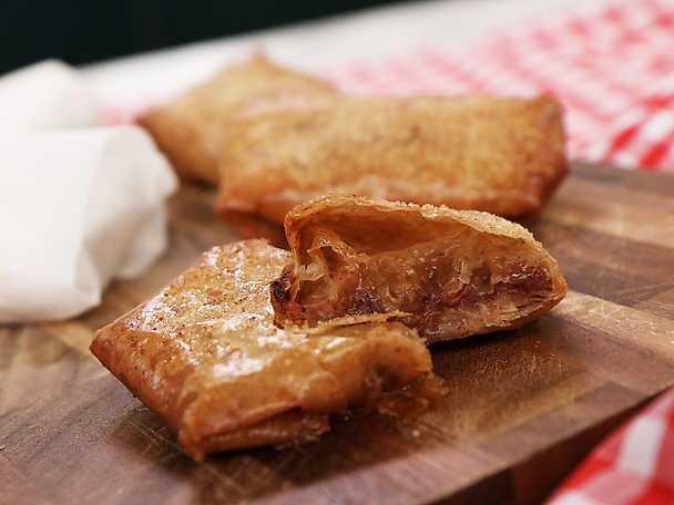 Frasig äppelpaj med filodeg