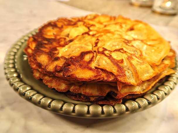 recept på glutenfria pannkakor