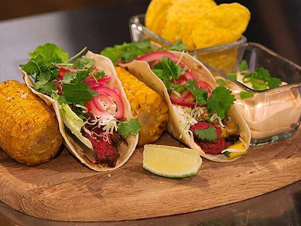 Fredagsfeeling med tacos på njurtapp