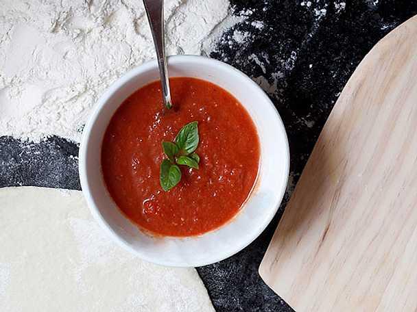 Fredriks tomatsås till pizza