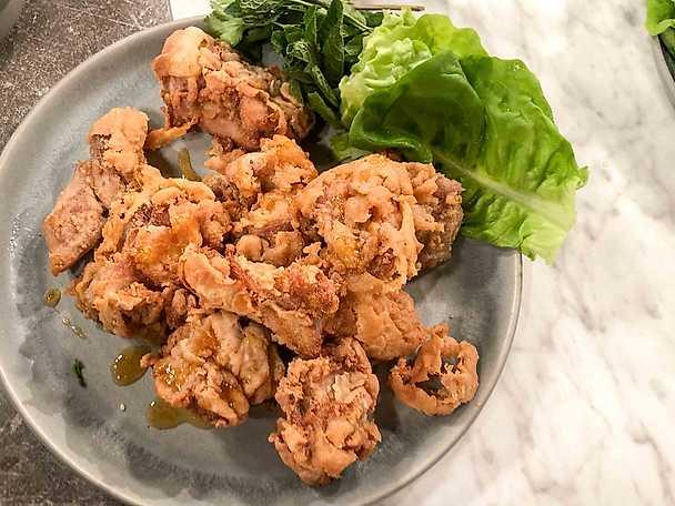 Fried chicken thai style