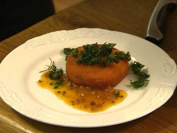 Friterad camembert