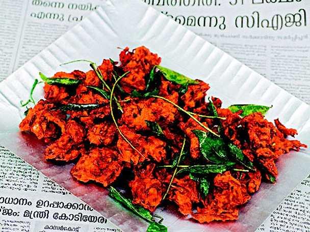Friterade grönsakssnacks