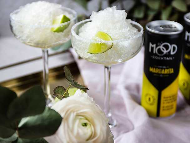 Frozen margarita med Mood Makers