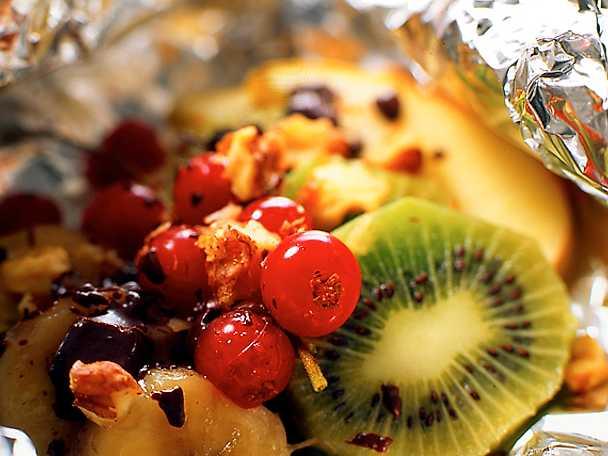 Frukt i folie