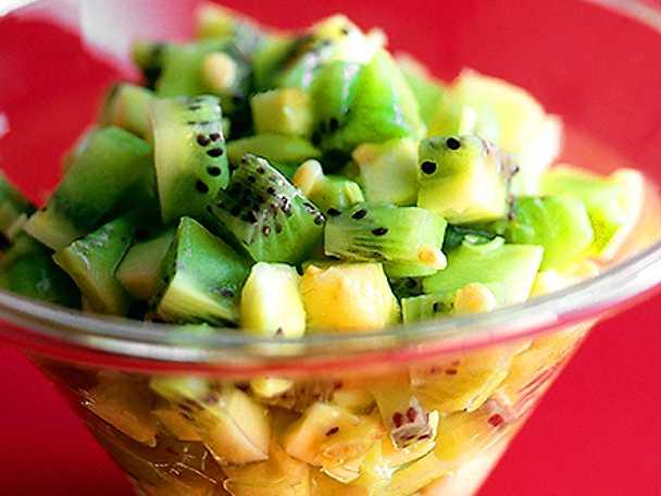 Fruktsallad med kiwi