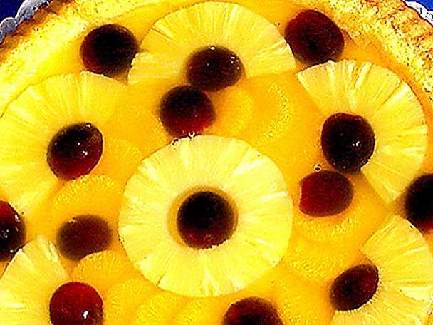 Frukttårta