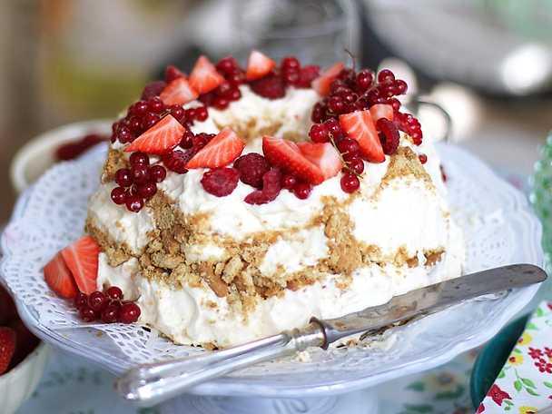 Frusen cheesecake på mascarpone NY