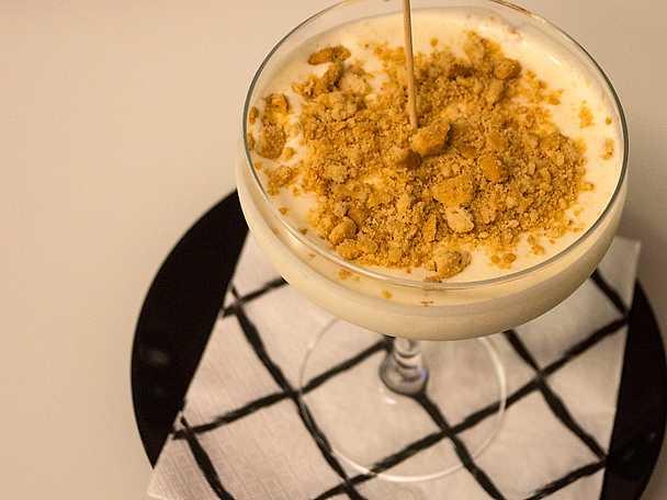 fryst vaniljcheesecake