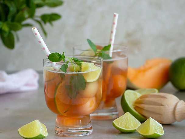 Fuze tea-  Läskande iste med melon