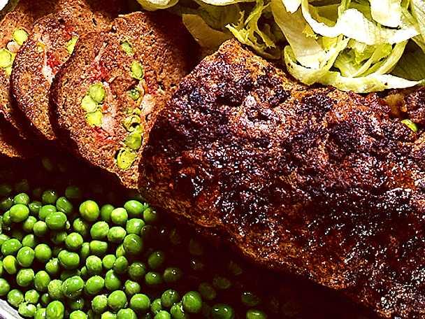 Fylld köttfärslimpa