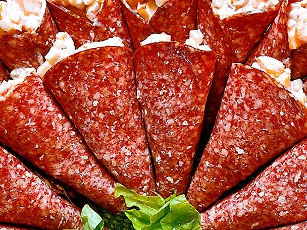 Fylld salami