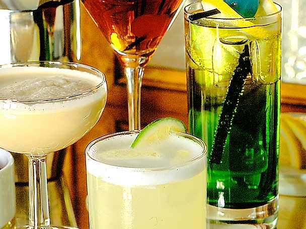 Fyra drinkar
