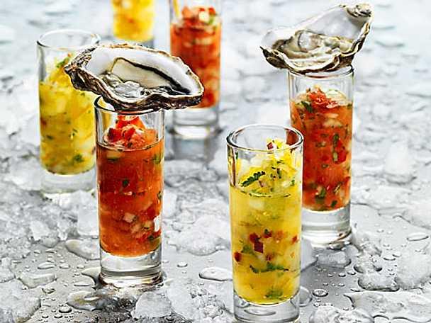 Gazpacho med ostron