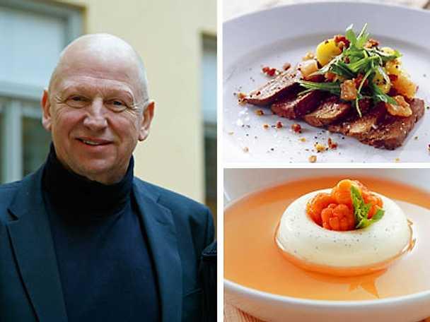 Gert Klötzke bjuder på skogens mat