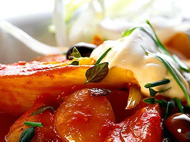 Glaserade grönsaker