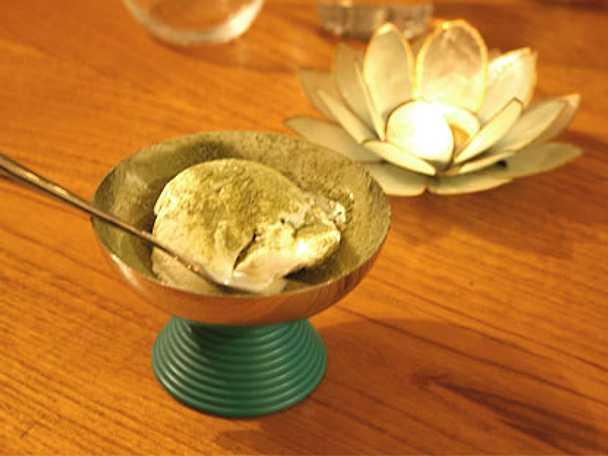 Glass med grönt te à la Arirang
