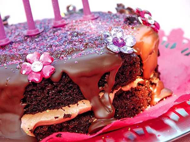 Glittertårta