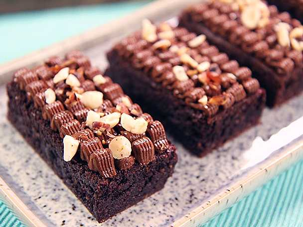 Glutenfri brownie med nutellafrosting