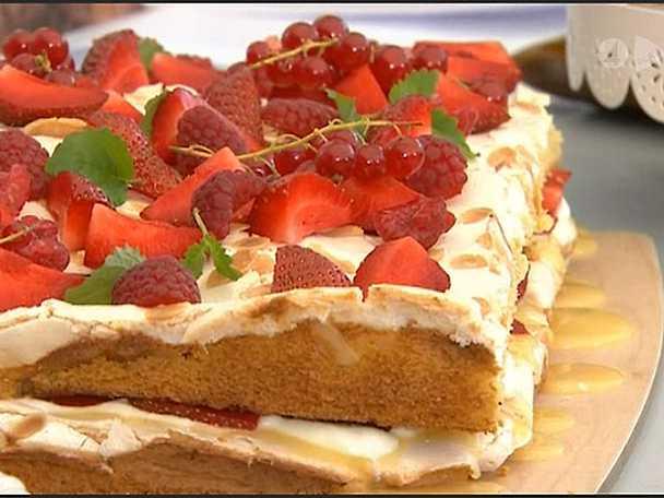Glutenfri margaretatårta