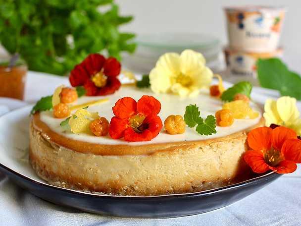 Glutenfri och laktosfri hjortroncheesecake