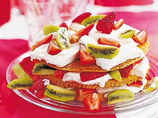 Glutenfri och laktosfri tårta