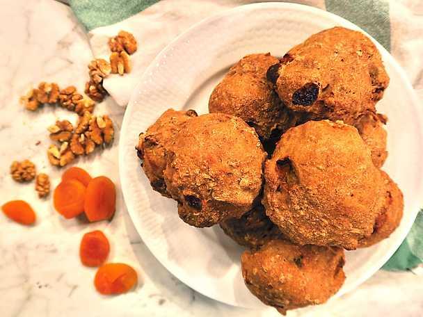 Glutenfria valnötsfrallor, Jessica Frejs recept