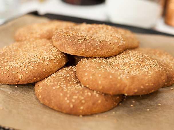 Glutenfritt sesambröd