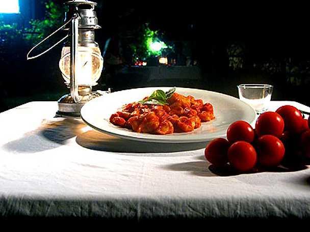 Gnocchi di patate con salsa di pomodoro