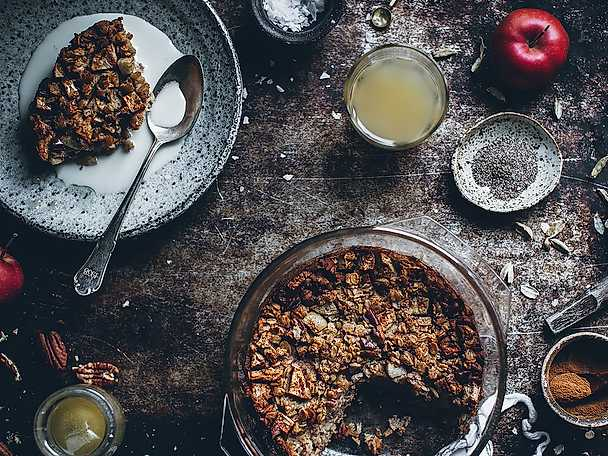 God Morgon Baked apple oatmeal